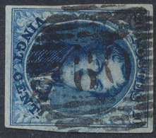 "Médaillon - N°4 Margé Obl P60 ""Herve"" - 1849-1850 Médaillons (3/5)"