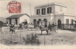 GAFSA  - La Gare - Vue Extérieure - Tunisie