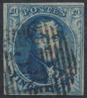 """Médaillon - N°4 Margé Obl P38 """"Enghien"""". TB - 1849-1850 Médaillons (3/5)"""