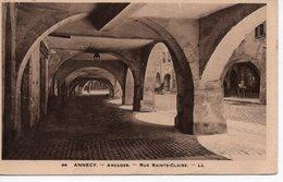 ANNECY - ARCADES - RUE SAINTE CLAIRE - Annecy