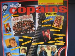 Lot De Cinq Disques 33 Tours 30 Cm-Salut Les Copains(2 Disques)12 Hits Originaux-Tendresse--L'été,le Soleil,la Mer - Vinyles