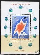 SPACE - HUNGARY - S/S MNH - Spazio