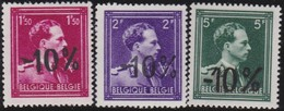 Belgie    .  OBP    .    724 B/D/F       .     **     .     Postfris   .   /   .  Neuf SANS Charniere - Belgium