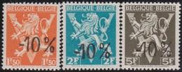 Belgie    .  OBP    .    724 G/H/I       .     **     .     Postfris   .   /   .  Neuf SANS Charniere - Belgium
