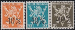Belgie    .  OBP    .    724 K/L/M     .     **     .     Postfris   .   /   .  Neuf SANS Charniere - Belgium