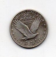 USA : 1/4 Dollar 1920 - 1916-1930: Standing Liberty (Liberté Debout)