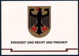 """RFA 1990 Document """"unité Allemande""""  Avec FDC Timbres """"Unité"""" Et FDC Bloc """"Mur De Berlin"""" + Bloc **MNH - [7] République Fédérale"""