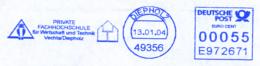 Freistempel 1842 Eule Oder Kauz Fachhochschule - Machine Stamps (ATM)