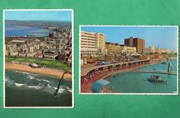 Afrique Du Sud South Africa Durban 2 Post Cards - Zuid-Afrika