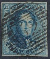 """Médaillon - N°4 (n°48 De La Pl) Margé Obl P62 """"Huy"""". Superbe - 1849-1850 Médaillons (3/5)"""