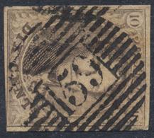 """Médaillon - N°6 Margé (coin Inférieur Droit Au Filet) Obl P159 """"Luttre"""". TB - 1851-1857 Médaillons (6/8)"""