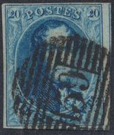 """Médaillon - N°7 Margé + 2 Voisins Obl P159 """"Luttre"""". TB - 1851-1857 Médaillons (6/8)"""