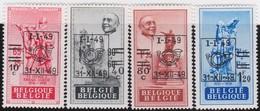 Belgie    .  OBP    .     803/806     .     **     .     Postfris   .   /   .  Neuf SANS Charniere - Unused Stamps
