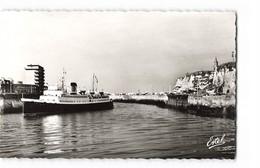 76 Dieppe Le Lisieux Entrant Au Port Bateau Paquebot CPSM PF Edit Estel N°55207 Photo - Dieppe