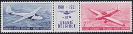 Belgie    .  OBP    .    LP 26/27  Drieluik       .     **     .     Postfris   .   /   .  Neuf SANS Charniere - Poste Aérienne