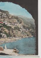 POSITANO SPIAGGIAPANORAMA-I -VIAGGIATA--1961-FG-MT.1093 - Napoli