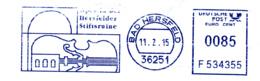 Freistempel 1869 Bad Hersfeld Stiftsruine Cello (?) - [7] République Fédérale