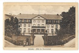 Malmedy  ( M 5174 )  Garde A L'entrée De L' Hotel Du Gouverneur - Malmedy