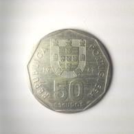 50 Escudos Münze Aus Portugal Von 1987 (vorzüglich) - Portugal