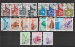 France Préoblitérés 1987-90 Du N°194 à 212 19 Val ** MNH - 1989-....