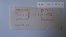 D165759  EMA-METER STAMP-FREISTEMPEL  -CUT  -Argentina - BuenosAires  1975 - Affrancature Meccaniche/Frama