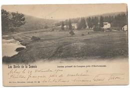 CPA PK  LES BORDS DE LA SEMOIS  ANCIEN PRIEURE DE CONQUES PRES D'HERBEUMONT - Belgium