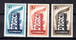 Luxembourg Europa 1956 Neufs ** MNH. TB. A Saisir! - Luxembourg