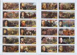 Fantazy Labels / Private Issue. History Historical Celebrities. Commanders 2019. - Fantasy Labels