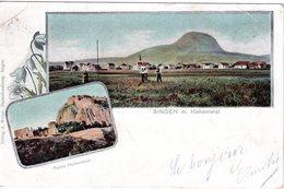 DE-BW: SINGEN AM HOHENTWIEL: Ruine Hohentwiel - Singen A. Hohentwiel