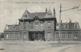 59, Nord, SAINT ANDRE, La Gare, Scan Recto Verso - France