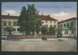 Chateau Salins Moselle, Knabenschule Und Vorseminar, Le Collège  Mbh111 - Chateau Salins