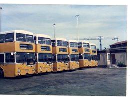 35mm ORIGINAL PHOTO BUS DOUBLE DECKER OMNIBUS STATION - F031 - Photographs