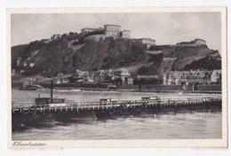 AK35 Ehrenbreitstein - River, Bridge - Koblenz