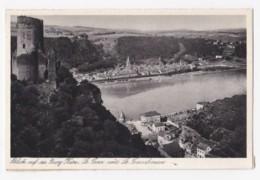 AK35 Blick Auf Die Burg Karz, St. Goar Und St. Goarshausen - St. Goar