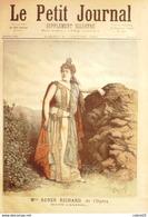 LE PETIT JOURNAL-1892-113-RICHARD RENEE/OPERA SAPHO-INVENTEUR De MELINITE/TURPIN - Newspapers