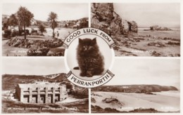 AN27 Good Luck From Perranporth Multiview - RPPC - Other
