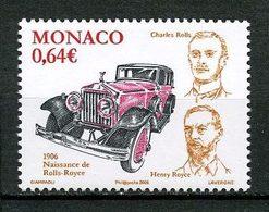 MONACO 2006  N° 2556 ** Neuf MNH Superbe Automobile Voiture Rolls Royce Transports - Monaco