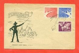 SCHERMA -POLONIA - 1957 - Scherma