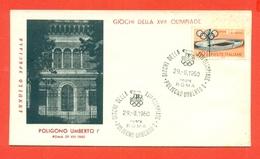TIRO - OLIMPIADI ROMA - 1960 - Tiro (armi)