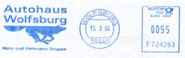 Freistempel 1882 Wolfsburg Autohaus - Marcophilie - EMA (Empreintes Machines)