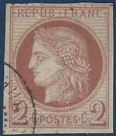 France Colonies Céres N°15 2c Oblitéré Dateur Tres Frais ...TTB - Ceres