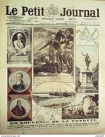 LE PETIT JOURNAL-1919-1500-SOUVENIR De LA FAYETTE-PHALSBOURG-GUERRE Photos - Newspapers