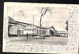 Netherlands Indies ± 1900 Madioen Railway Station Buildings From Kendangan To Deventer (18-45) - Indonesië