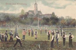 Gruss Aus Kirchberg - Hornussen - 1909        (P-181-60909) - BE Berne