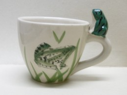 TASSE GRENOUILLE En Céramique - Animaux Grenouilles - Tasses