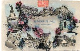 DEPT 75 : Paris 03 : Souvenir De Paris III Arrondissement ( En Multivues ) - Arrondissement: 03
