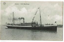 Anvers   S S  Mandingo - Steamers