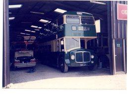 35mm ORIGINAL PHOTO BUS WITHCHURCH SHROPSHIRE STATION GARAGE? - F034 - Photographs