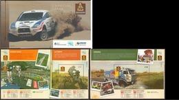 Argentina - 2010 - Carnet - 33º édition Du Rallye De Dakar - Yvert 2883 / 2897 - Argentina