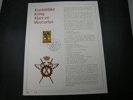 "BELG.1977 1855 FDC Filatelic Gold Card NL. : "" KONINKLIJKE KRING MARS EN MERCURIUS "" - 1971-80"